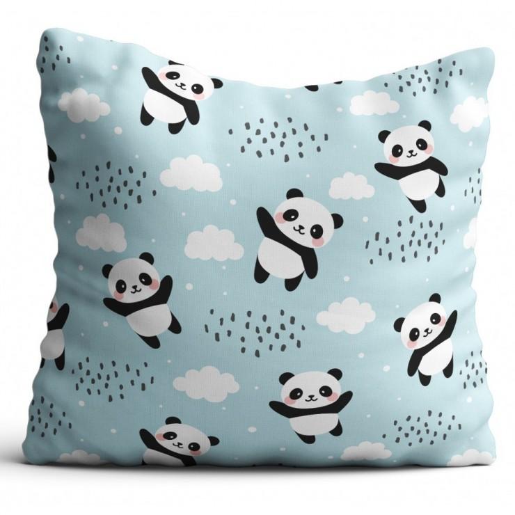 Pillowcase 40x40 cm pandas