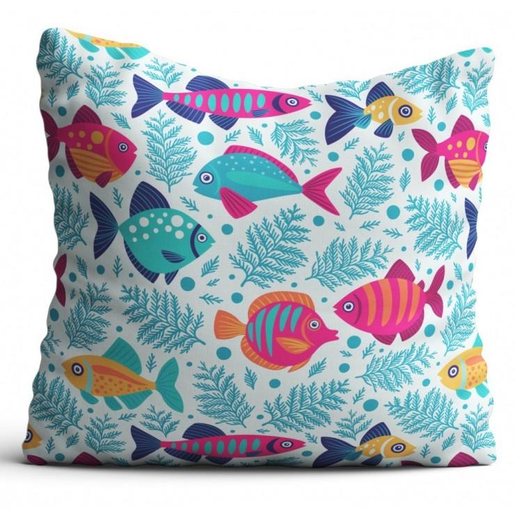 Pillowcase 40x40 cm small fish