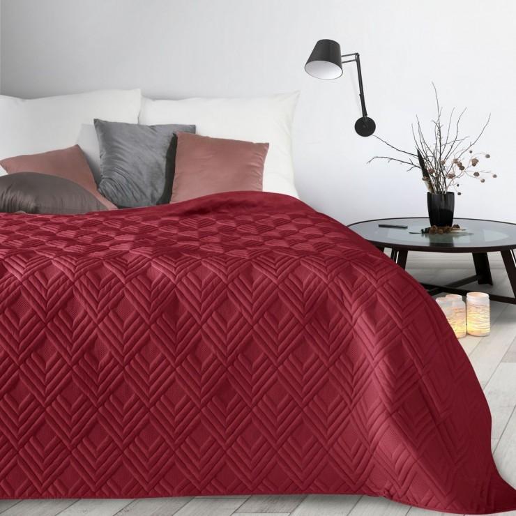 Bedspread Alara1 bordeaux