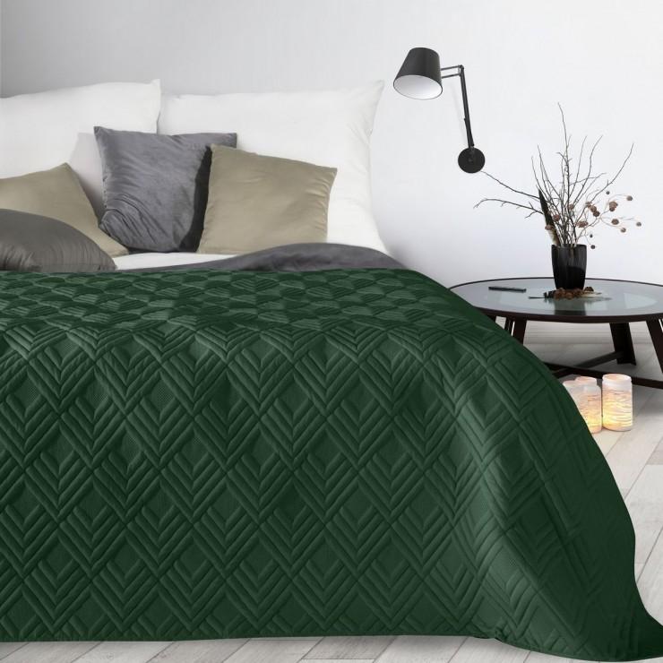 Bedspread Alara1 dark green