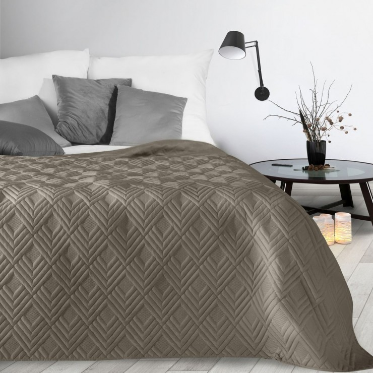 Bedspread Alara1 dark beige