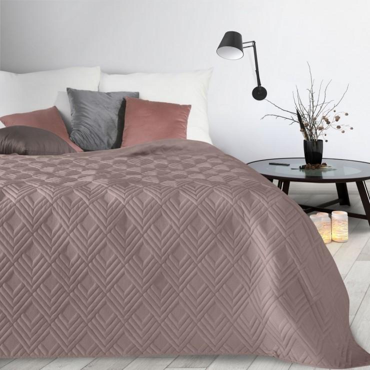 Prehoz na posteľ Alara1 tmavoružový