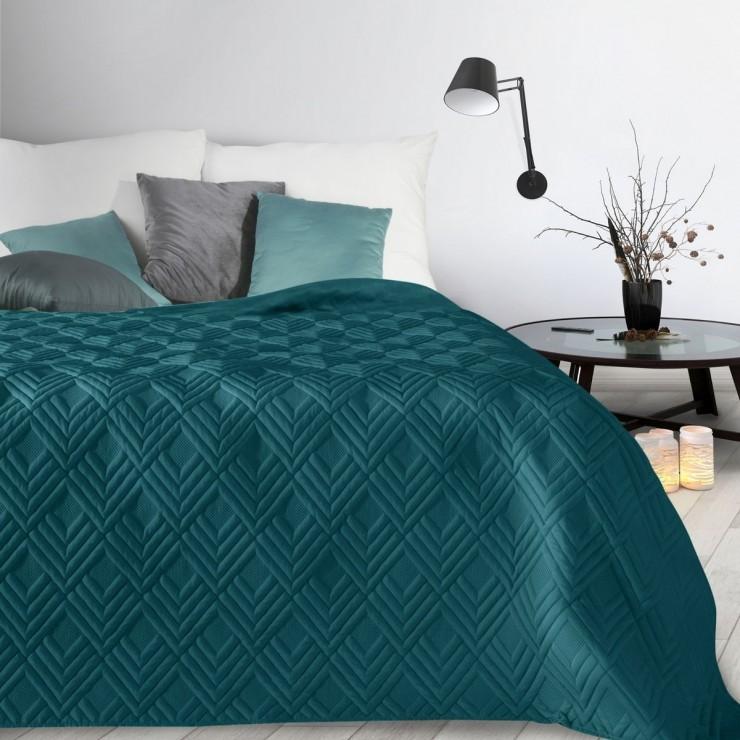 Prehoz na posteľ Alara1 smaragdovo zelený