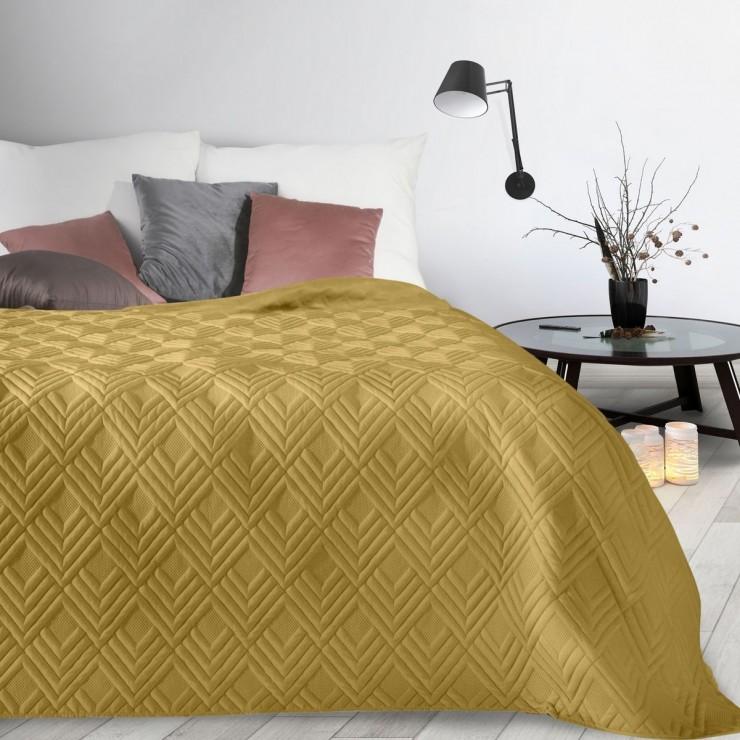 Bedspread Alara1 mustard