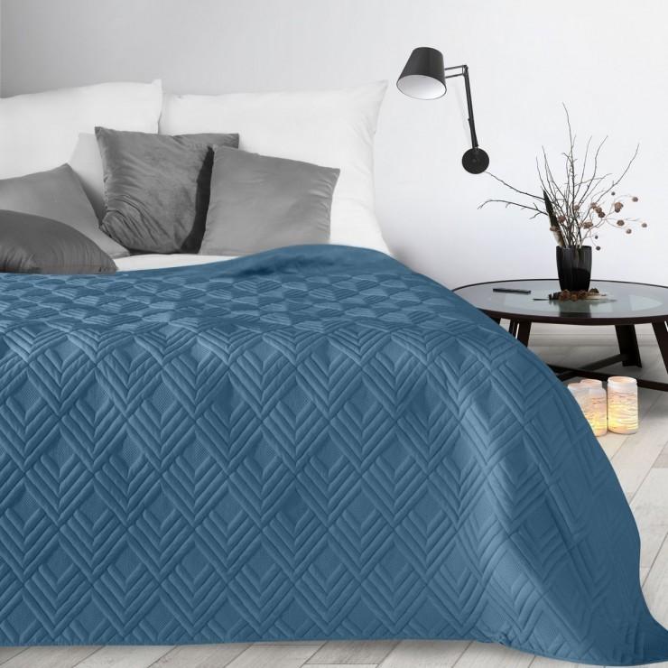 Prehoz na posteľ Alara1 nebesky modrý