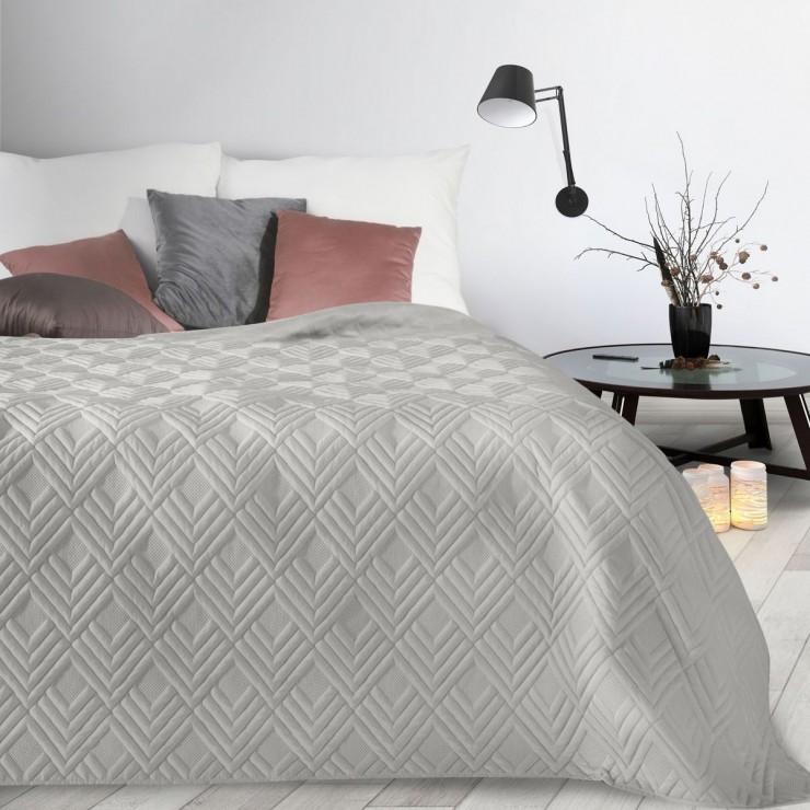 Bedspread Alara1 silver