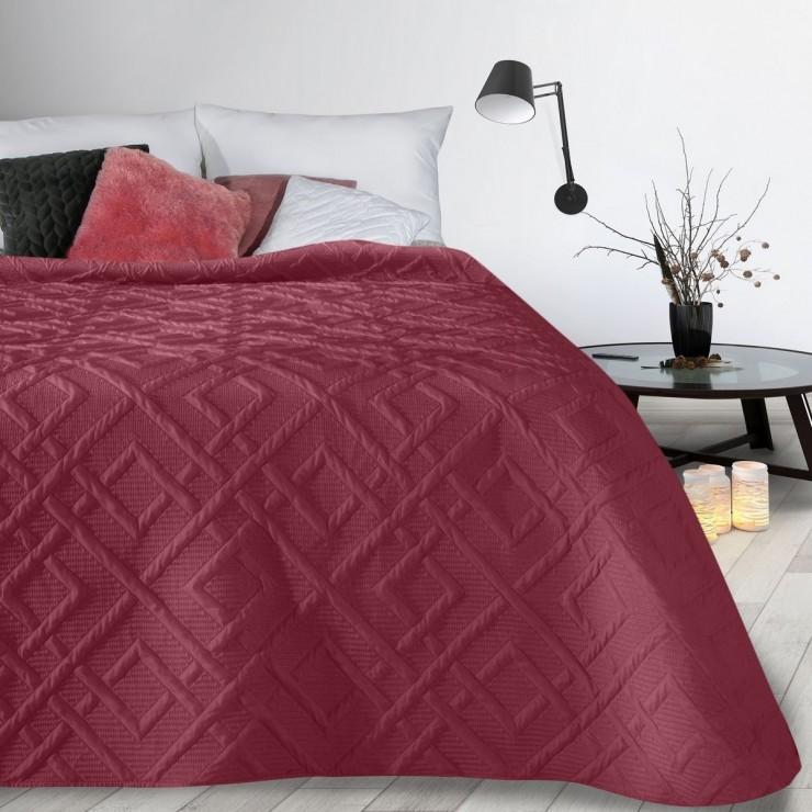 Bedspread Alara2 bordeaux