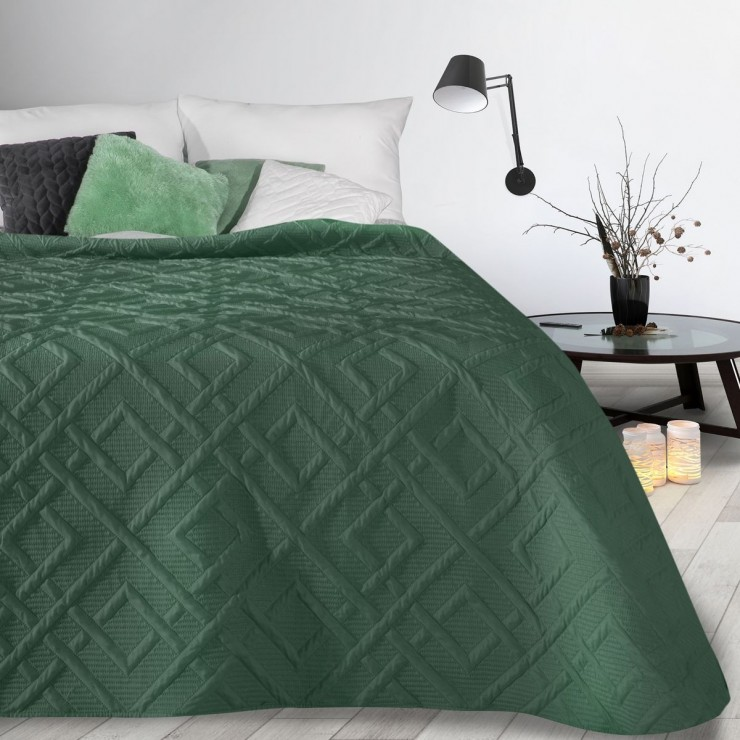 Bedspread Alara2 dark green