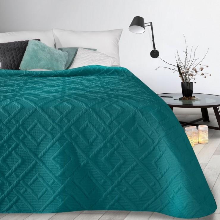 Prehoz na posteľ Alara2 smaragdovo zelený