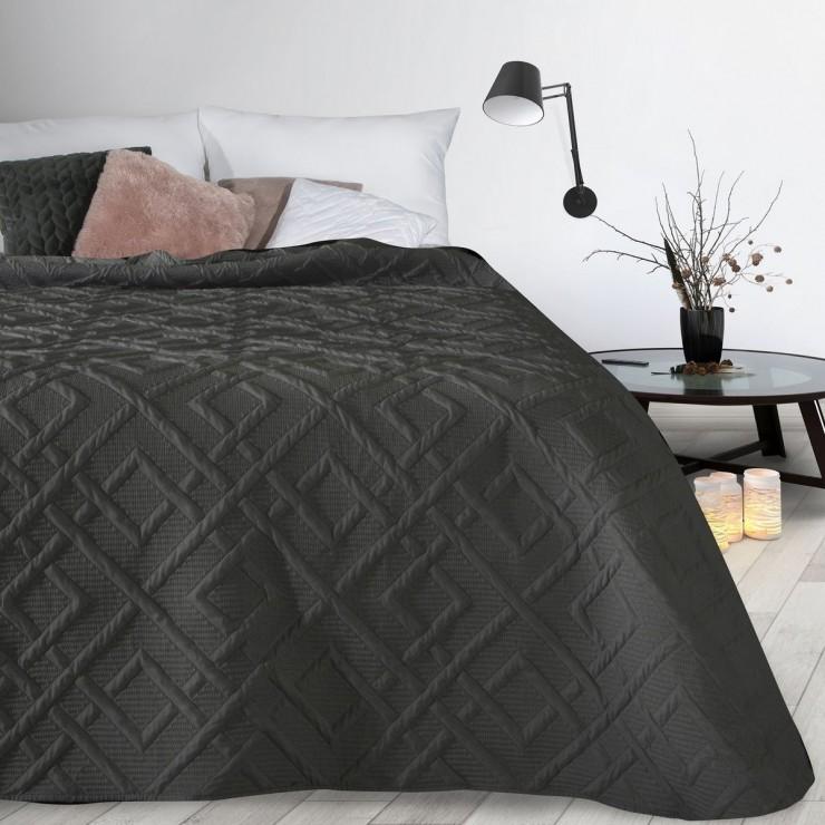 Prehoz na posteľ Alara2 čierny