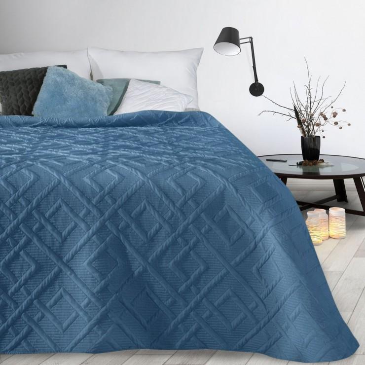 Prehoz na posteľ Alara2 nebesky modrý