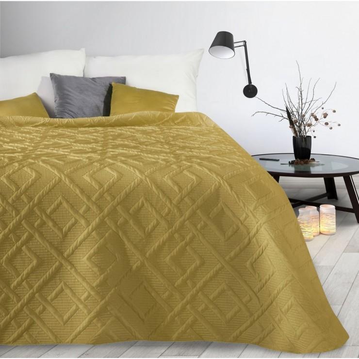 Bedspread Alara2 mustard