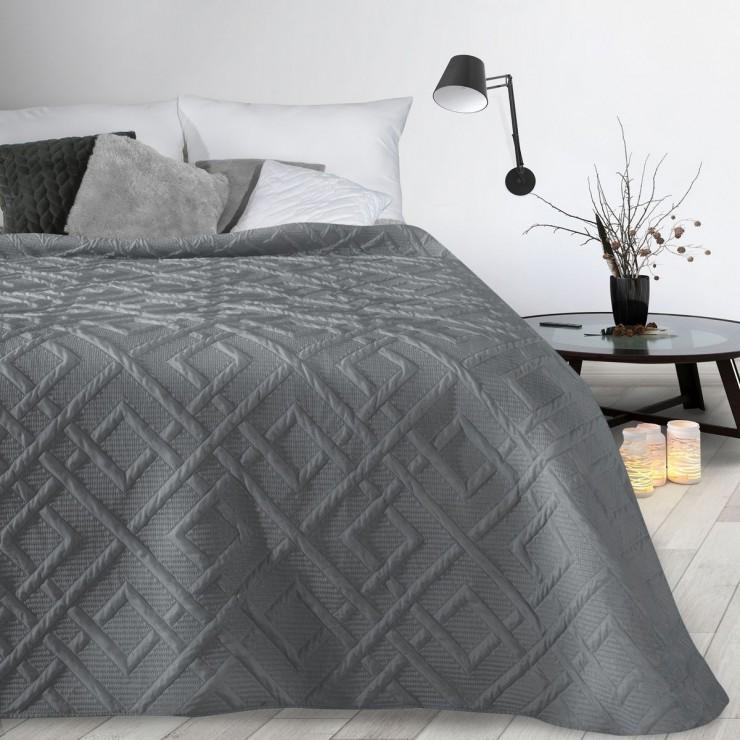 Bedspread Alara2 gray