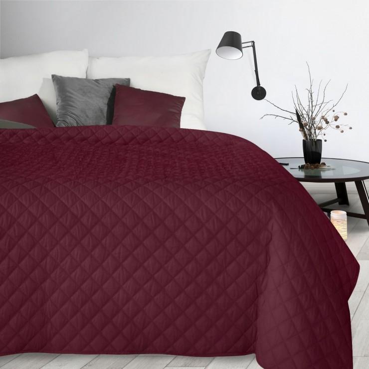 Bedspread Alara3 bordeaux