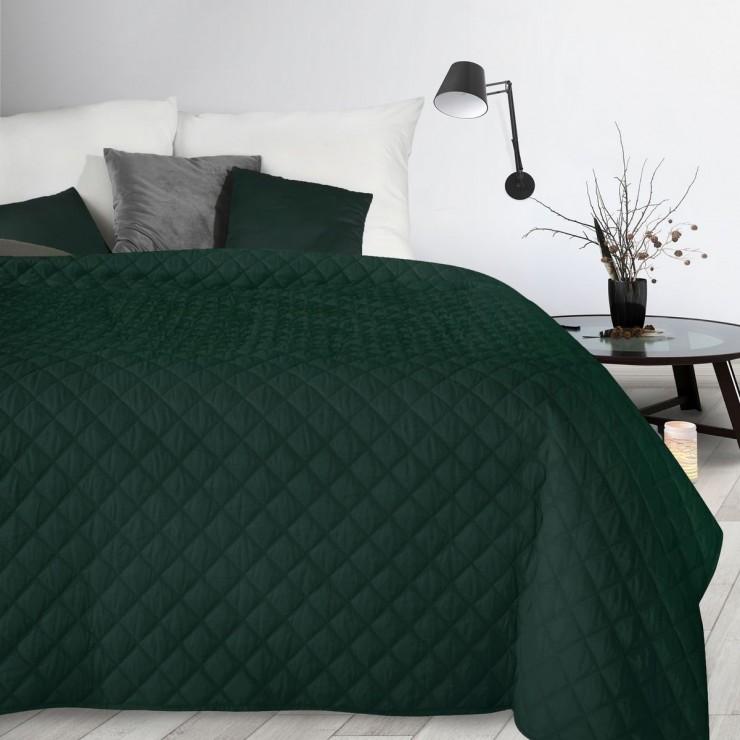 Bedspread Alara3 dark green