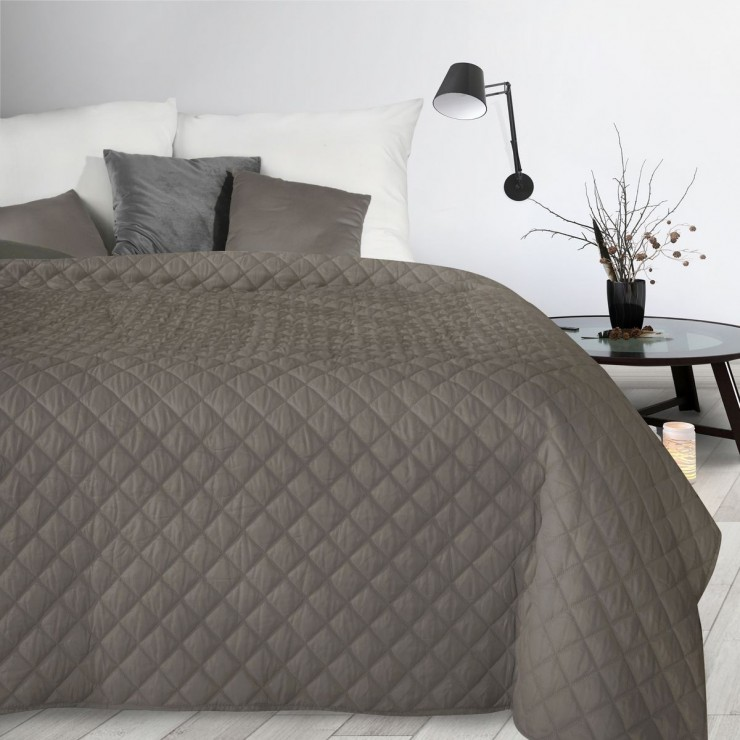 Bedspread Alara3 dark beige