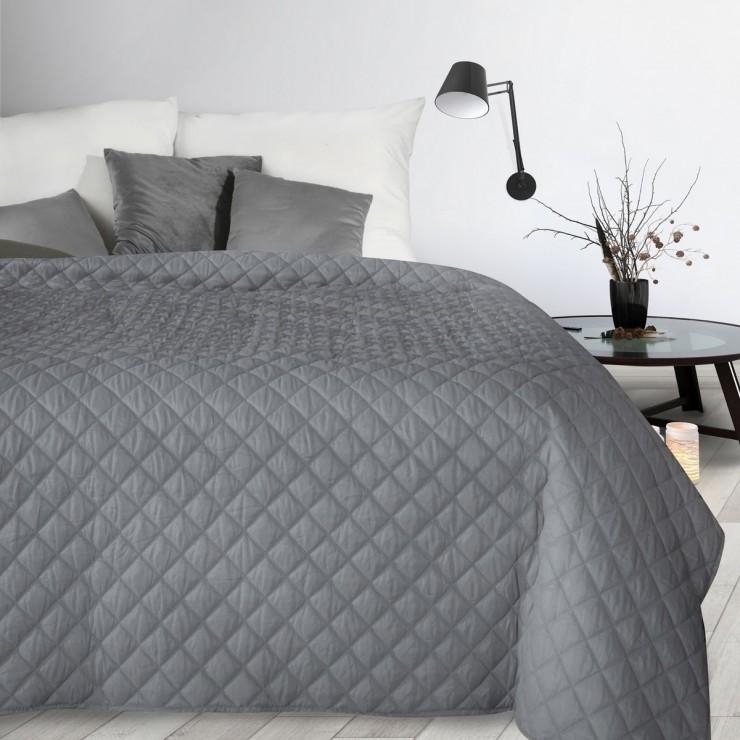 Prehoz na posteľ Alara3 šedý