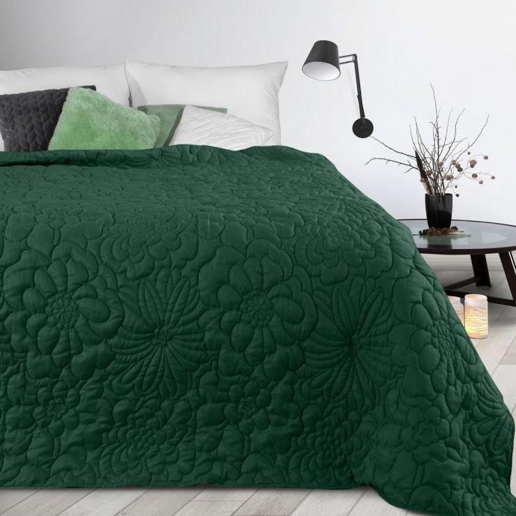 Bedspread Alara4 dark green