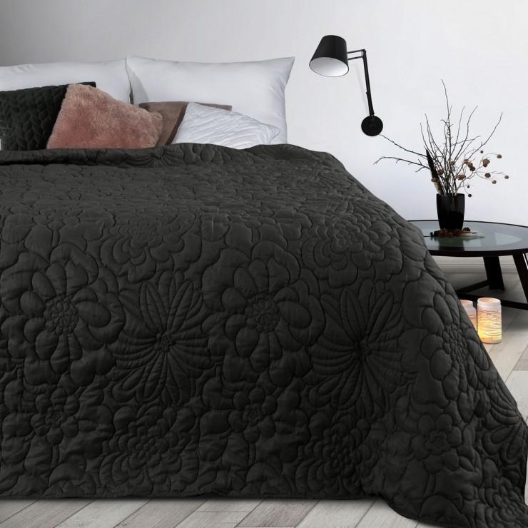 Prehoz na posteľ Alara4 čierny