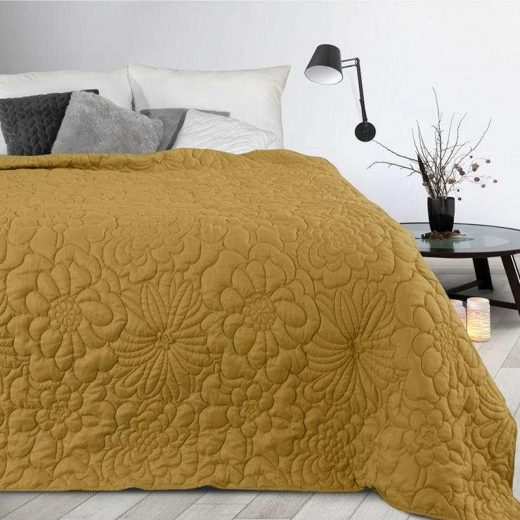 Bedspread Alara4 mustard