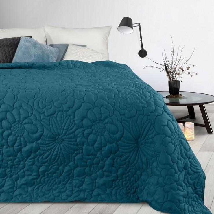 Prehoz na posteľ Alara4 nebesky modrý
