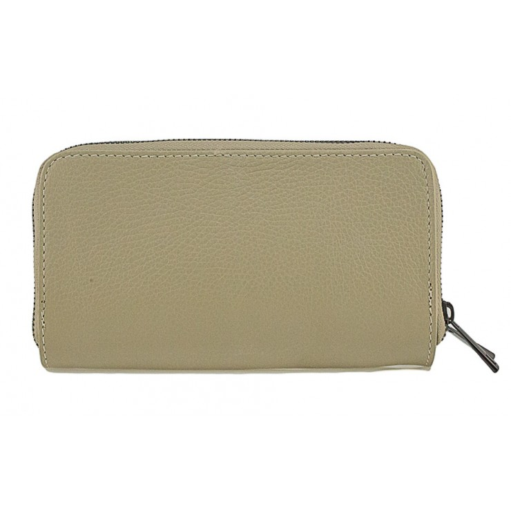 Woman genuine leather wallet 823 taupe
