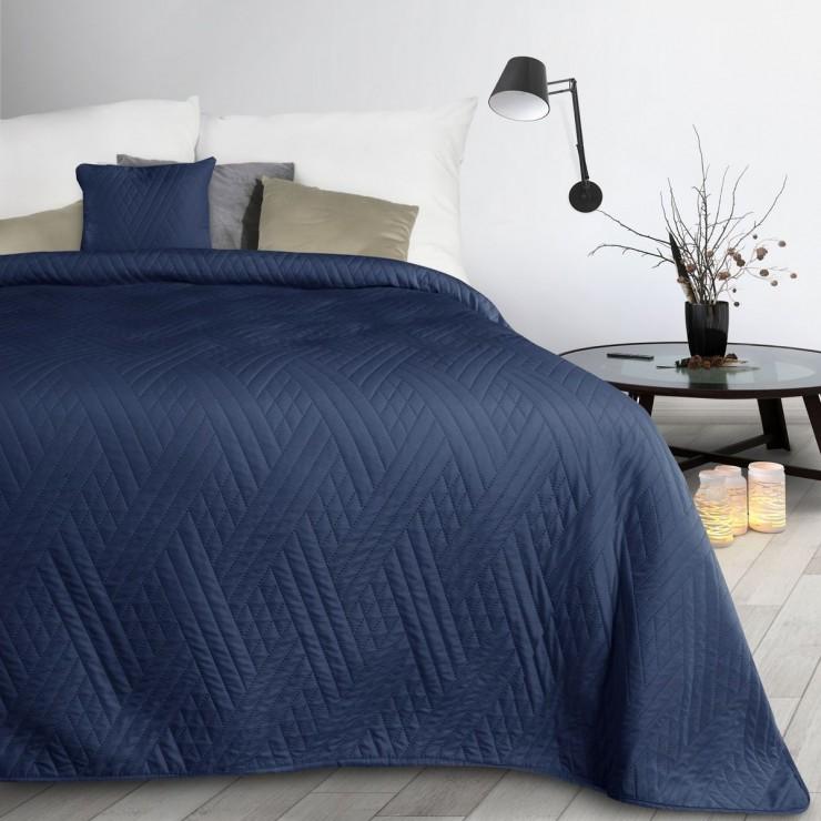 Bedspread Boni1 dark blue