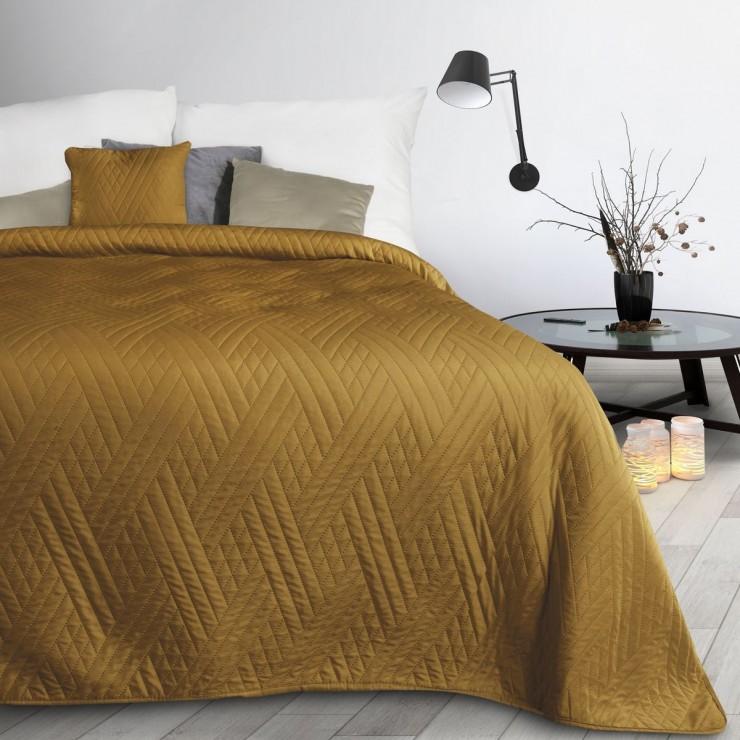 Bedspread Boni1 mustard