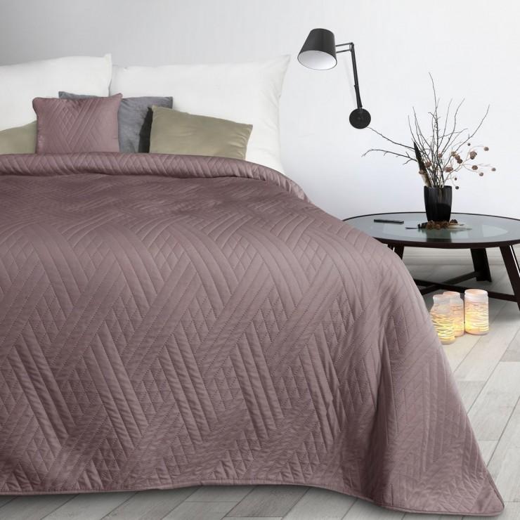 Prehoz na posteľ Boni1 pudrovo ružový
