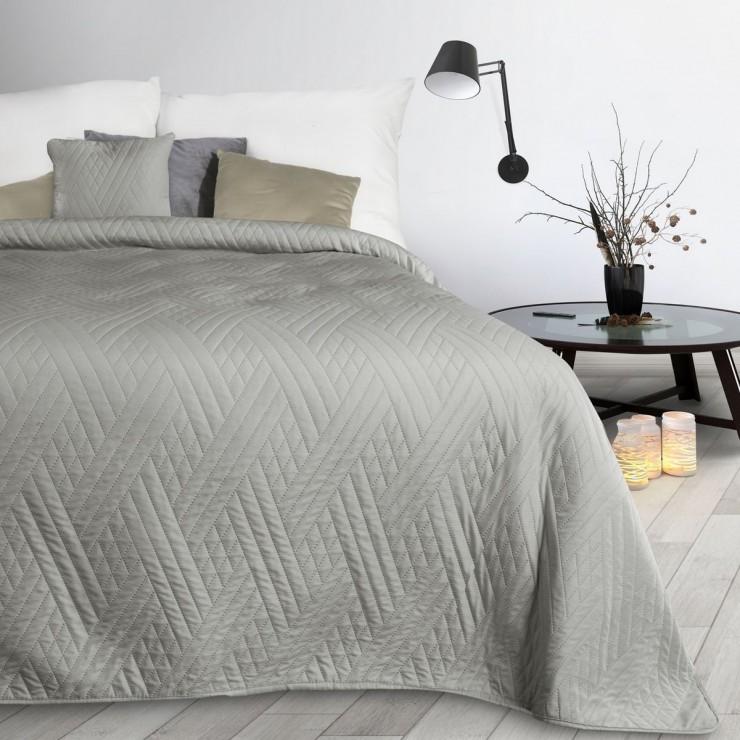 Bedspread Boni1 silver