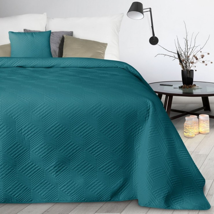 Bedspread Boni2 emerald green