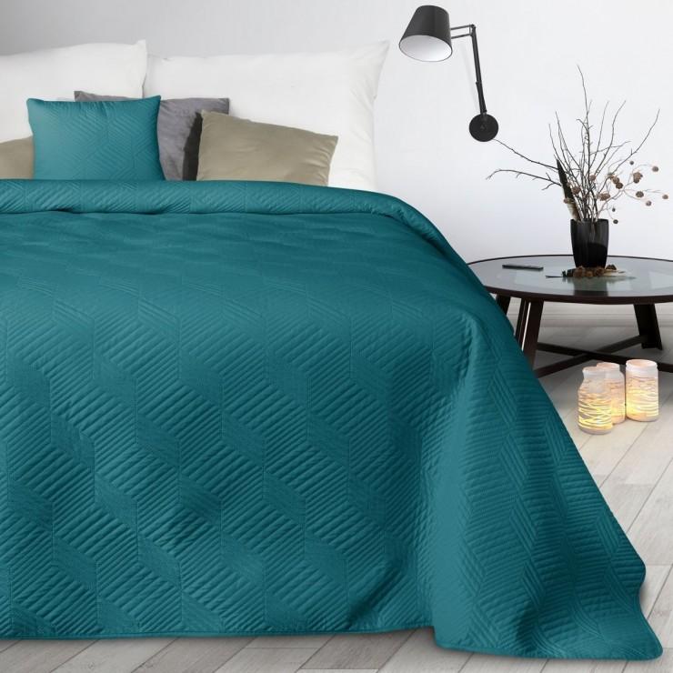 Prehoz na posteľ Boni2 smaragdovo zelený