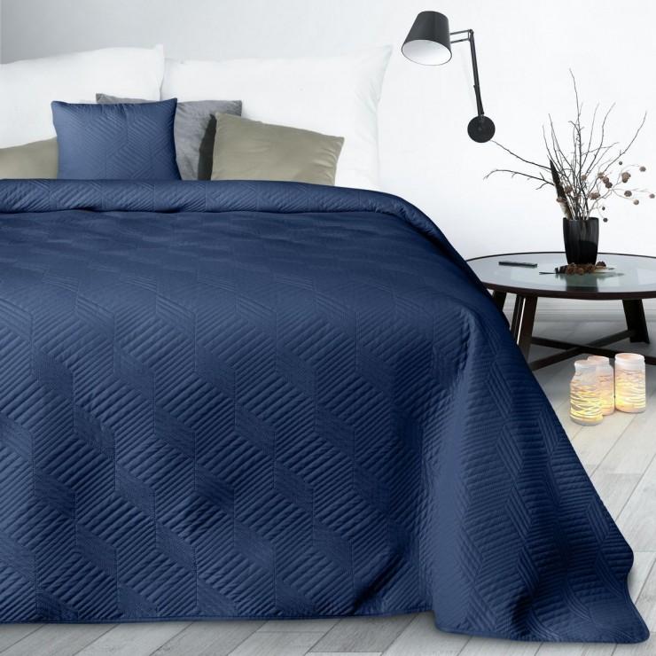 Bedspread Boni2 dark blue
