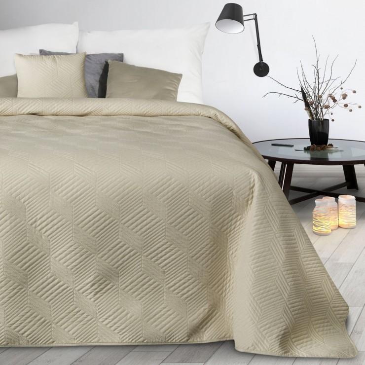 Prehoz na posteľ Boni2 krémový
