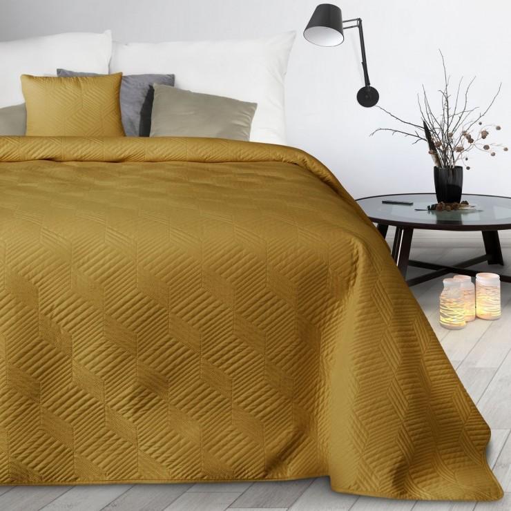 Bedspread Boni2 mustard