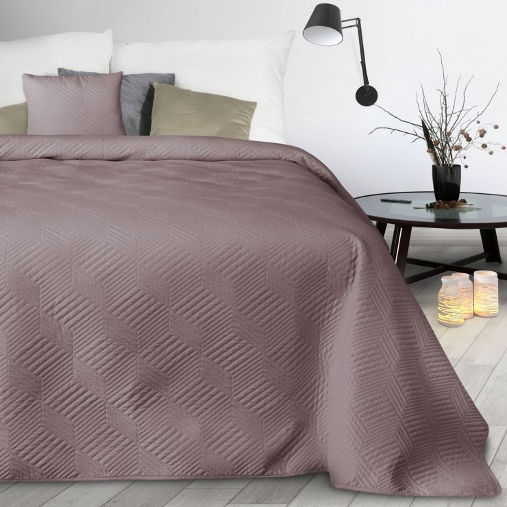 Prehoz na posteľ Boni2 pudrovo ružový
