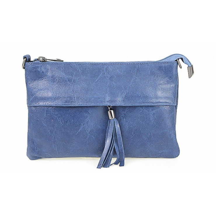 Genuine Leather Handbag 1423A jeans