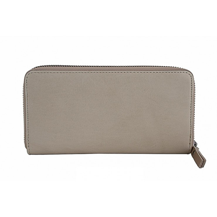 Woman genuine leather wallet 595A taupe