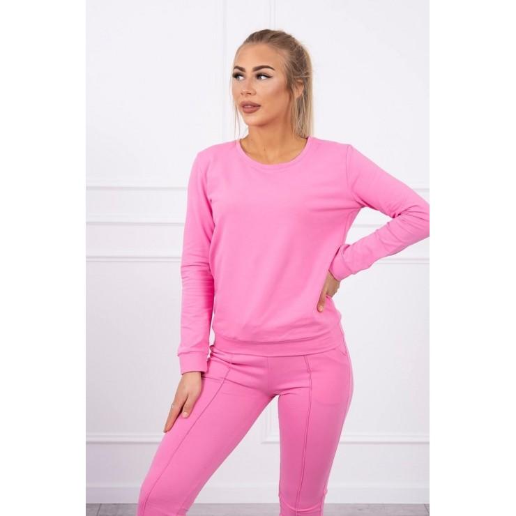Women's sport set MI9090 light pink