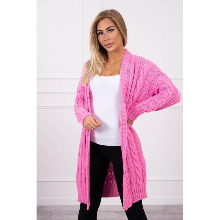 Women's knit sweater MI2019-21 light pink