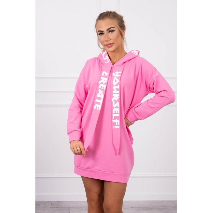 Dress with hood MI0042 light pink