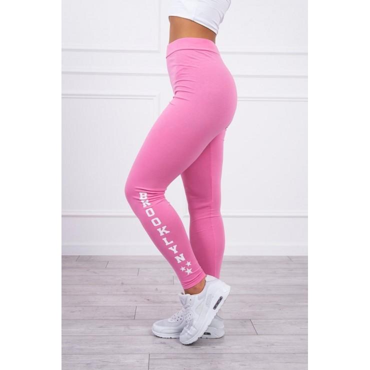 Woman leggings Brooklyn MI8882 light pink