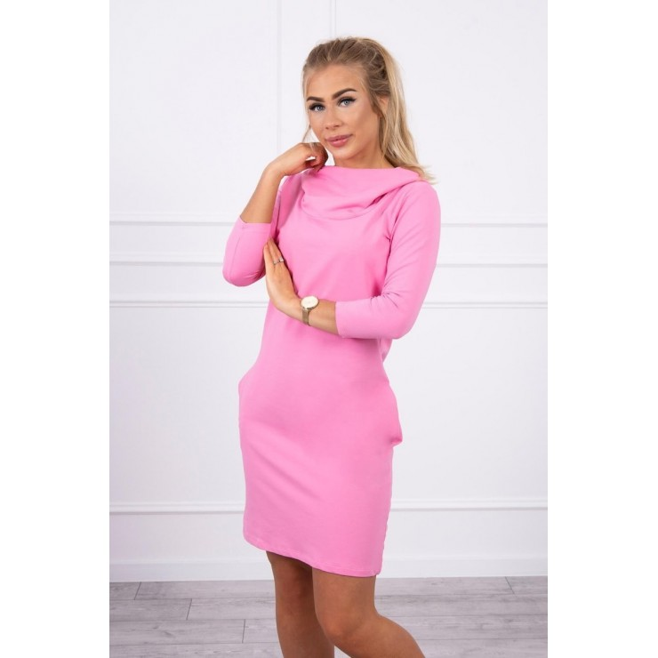 Dress with hood and pockets MIG8847 light pink