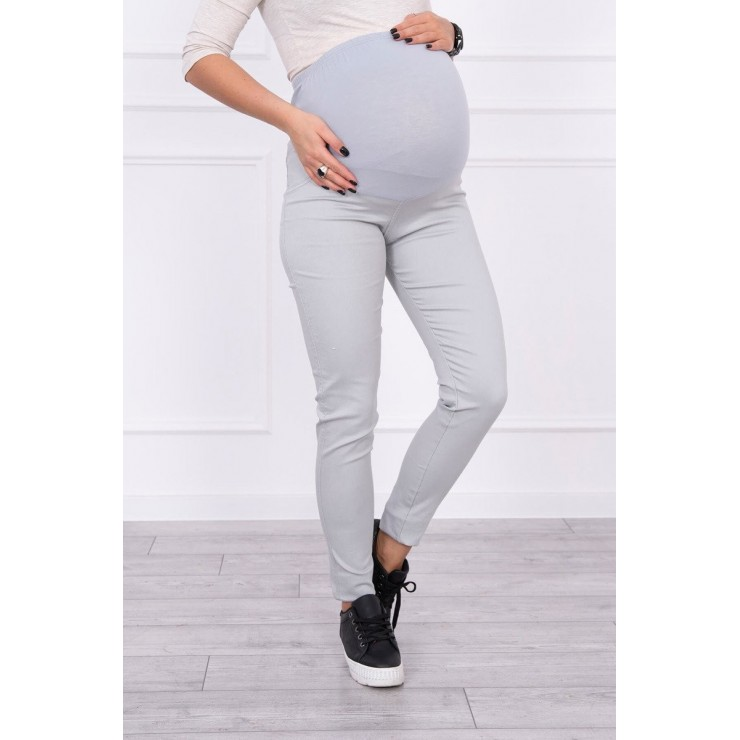 Maternity pants MI3672 gray