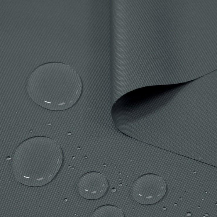 Voděodolná látka  grafit, šířka 160 cm