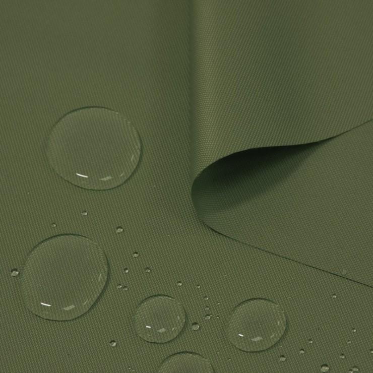 Voděodolná látka khaki, šířka 160 cm