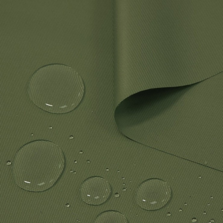Waterproof fabric khaki, h. 160 cm