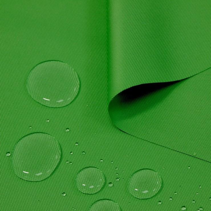 Voděodolná látka zelená, šířka 160 cm