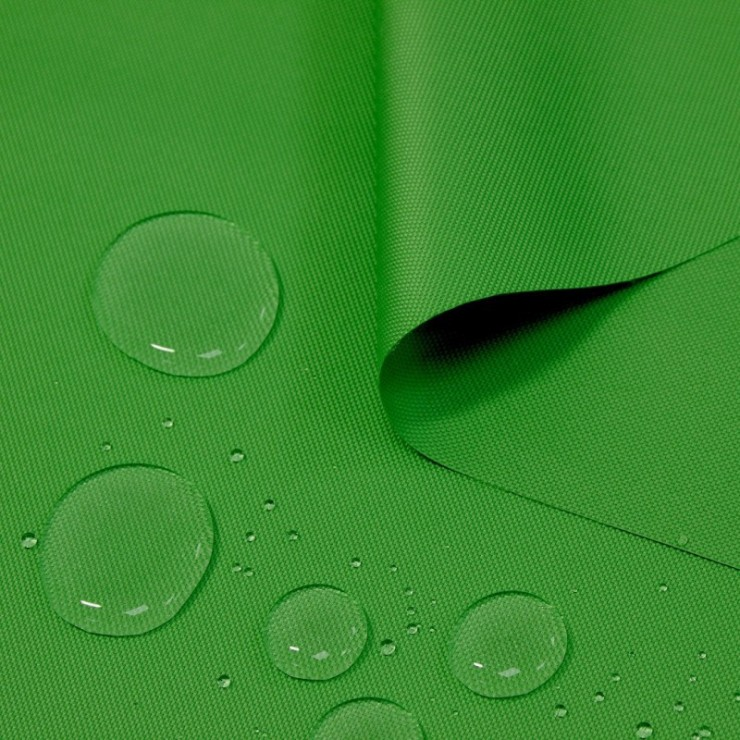 Waterproof fabric green, h. 160 cm