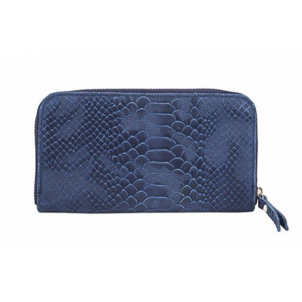 Kožená peňaženka 595 modrá